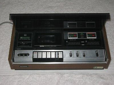 SHARP RT-480X - 4 Track - 2 Channel Cassette Tape Deck - Optonica - Mint - Rare