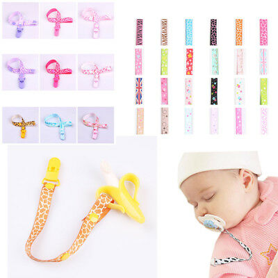 Baby Clip Gift Dummy Pacifier Soother Nipple Universal Leash Strap Chain Holder