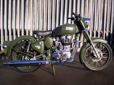 2016 Royal Enfield Classic 500 ARMY GREEN
