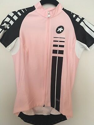 assos ladies cycling jersey size M