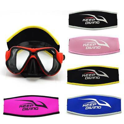 Universal Neoprene Scuba Diving Mask Strap Hair Band Cover Water Sport For Adult