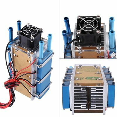 6-chip 360W Semiconductor Refrigeration Air Cooling Water-cooled Cooler D1R