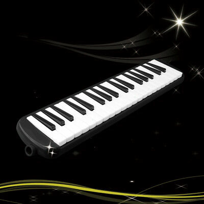 D03 37 Piano Keys Black Musical Instrument Melodica Pianica With Carrying Bag O