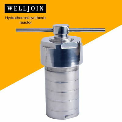 Hydrothermal Autoclave Reactor with eflon Chamber Hydrothermal Synthesis 500ml