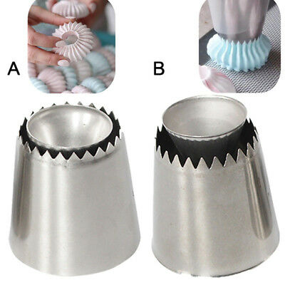 Icing Nozzle Russian Piping Sultan Ring Tips Cookies Decorating Mold Baking Tool