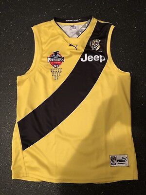 Richmond Tigers Premiers 2017 Clash Jumper Guernsey Jersey New AFL Xxl Puma rare