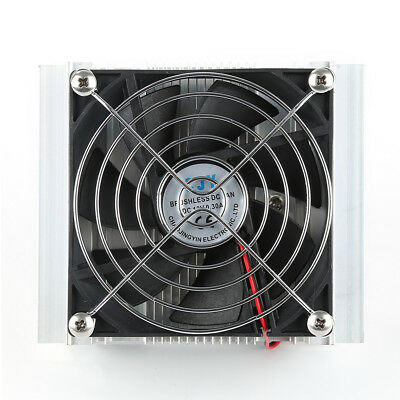 TEC-12706 Thermoelectric Peltier Refrigeration Cooling System Kit Cooler Fan G1R