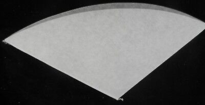 200 Pcs Oil Filter Paper 11 Inch Regular - 270 Mm Chip Cone For Deep Fryer Fries