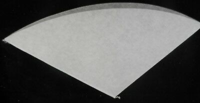 400 Pcs Oil Filter Paper 11 Inch Regular - 270 Mm Chip Cone For Deep Fryer Fries