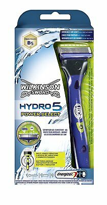 2 x Wilkinson Sword Hydro5 Power Select Rasierapparat mit 1 Klinge  Spar Set