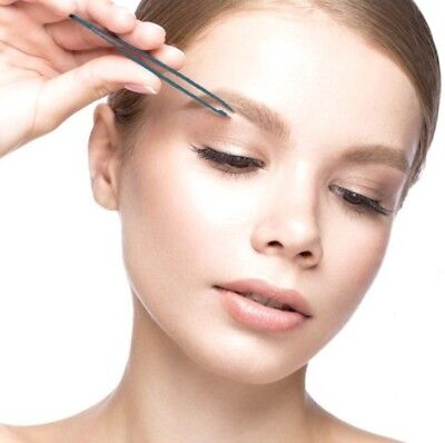Professional Slanted Eyebrow Hair Removal Tweezers Beauty Pluckers