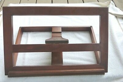 VINTAGE DREXEL WOOD BOOK MUSIC PHOTO BIBLE STAND DISPLAY ADJUSTABLE 20x13