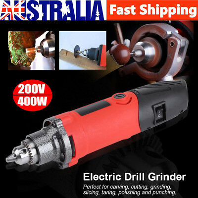 200V 400W Variable Speed Electric Mini Die Drill Grinder Power Rotary Tools AU