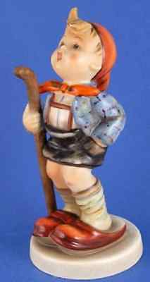 "M I Hummel ** Little Hiker 4.25"" ** Hum 16/2/0"