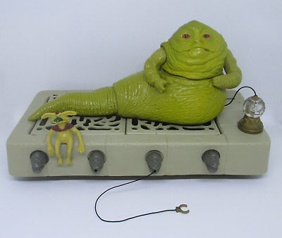 Star Wars Vintage JABBA THE HUTT Playset Figures ROTJ 1983 Kenner