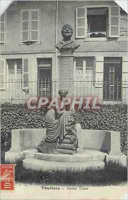 CPA Vouziers Statue Taine