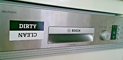 *NEW* Clean / Dirty Dishwasher Magnet Dishwasher Sign for Office & Home Cleaning