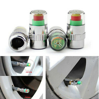 4x Car Valve Tyre Cap Dust Monitor Wheel Pressure Tire Air Pressure Tire Monitor