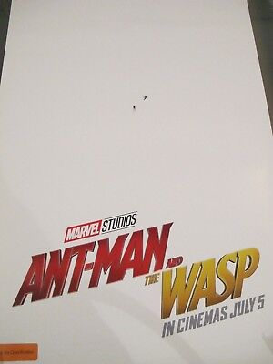 Ant-Man and the Wasp - one sheet movie poster