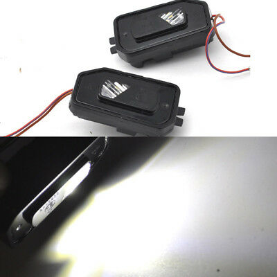 2x Error Free LED Side Mirror Puddle Light For Mercedes W205 c class 2015-2018