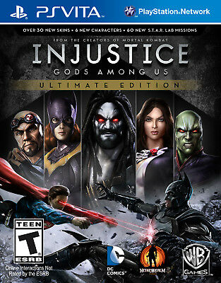 Injustice: Gods Among Us: Ultimate Edition - Ps Vita Video Game Fighting