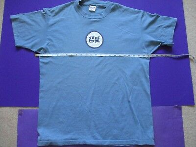 GusGus 4AD ORIGINAL 1996 PROMO T SHIRT Polydistortion indie iceland electronic