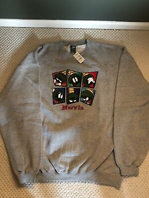 Vintage Marvin The Martian Crewneck w/ Tag - XLarge