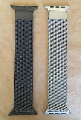 Set of 2 Apple 42MM Milanese Watch Bands