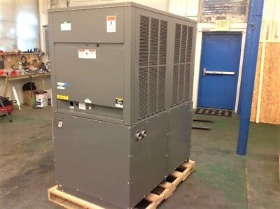 NEW 10 ton Air Cooled Chiller, N. American Made, Lrg. Tank Indoor/Outdoor R410a