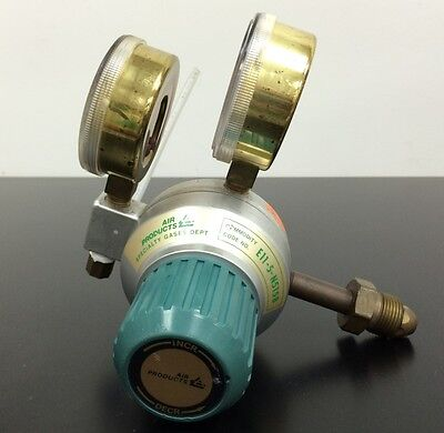 WARRANTY Air Products Gas Regulator E11-5-N515B 4000 / 60 PSI In/Out E4