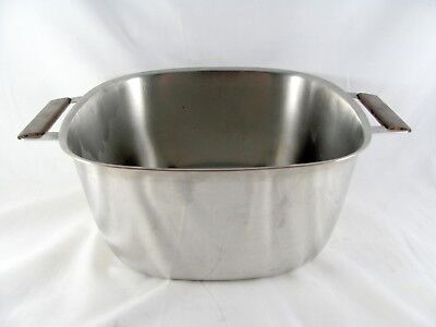 Maid of Honor Copper Core Pot, 2-1/2 Qt, pan, Sears Roebuck, Stainless, vtg