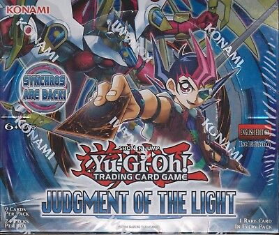 YuGiOh - Judgment Of The Light Booster Box. 1stEd English Sealed