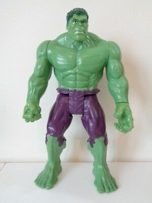 "Marvel Incredible Hulk - 11"" Action Figure - Hasbro 2013 - Good Condition"