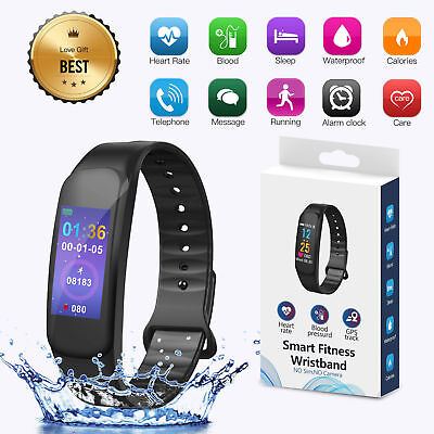 Fitness Activity Tracker Smart Health Sports Gym Wrist Watch Band Heart Rate Kid