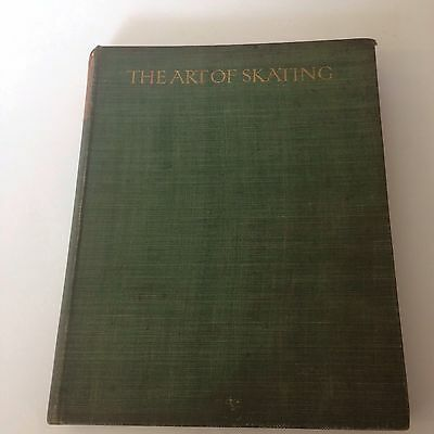 The Art Of Skating Irving Brokaw 1910 1st Edition Letchworth At Arden Press