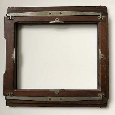 Misc Brand  Large Format 8X10 wood Spring Back w/o Ground Glass