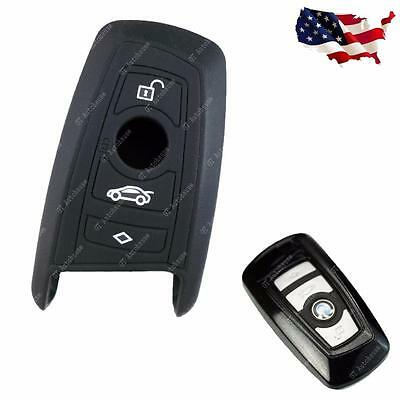BMW Keyless Smart Key Fob Silicone Case Holder Cover Exact Fit 2 3 4 5 7 Series