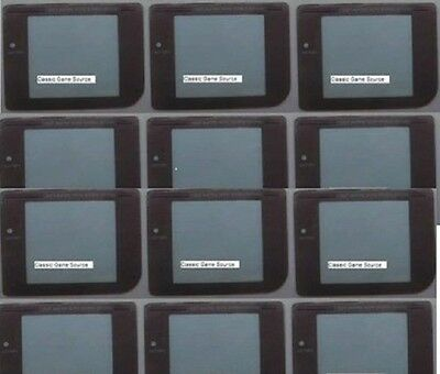 50 LOT 25 Play it loud screens & 25 Gray battery covers for Game boy Original