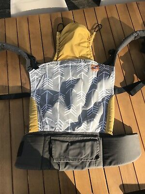 Tula Archer Arrow Yellow And Grey Baby Sling Carrier Read Description Carefully
