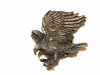 Vintage Bergamot Eagle Brass Works Belt Buckle