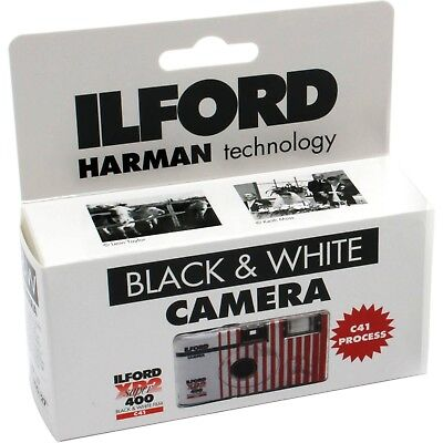 Ilford XP2 Super Single Use Black and White Film Camera, 27 Exposures