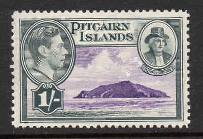 Pitcairn Islands 1940 KGVI 1/- SG 7 mint