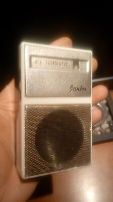 All Transistor Junior small Radio 2-TRANSITOR (Japan)