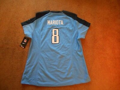 Wholesale AUTHENTIC NIKE #8 Marcus Mariota Tennessee Titans STITCH Jersey Men  free shipping