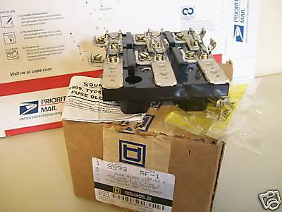 Square D Class 9999 Type Sf-1 Fuse Block Kit For Size 0