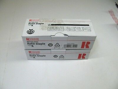 RICOH PPC Type K Refill Staple 1 1/2 Boxes ( Open Boxes ) New FREE SHIPPING