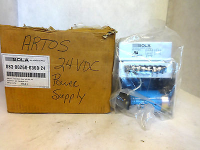New In Box Sola 083-00260-0300-24 Dc Power Supply