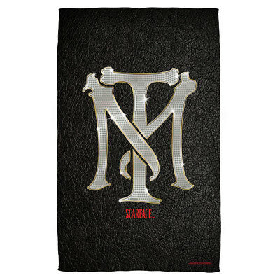 Scarface Movie Tony Montana TM Bling Logo MONOGRAM Lightweight Beach Towel