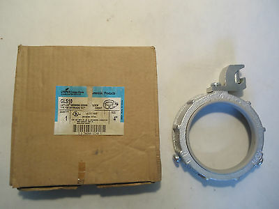 New In Box Cooper Crouse-Hinds Gls10 Lazy-Lug Grounding Bushing Set