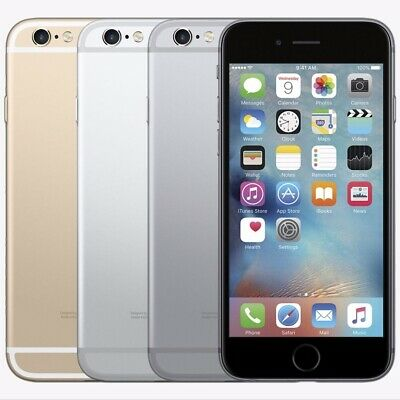 """Apple iPhone 6+ Plus-16GB 64GB 128GB GSM """"Factory Unlocked""""Gold Gray Silver A"""